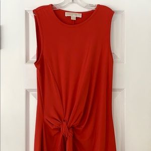 Michael Kors knotted front dress
